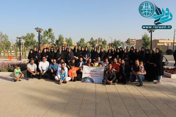 ورزش صبحگاهی خبرنگاران در بوستان خبرنگار+تصاویر