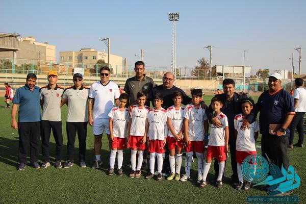اولین فستیوال فوتبال مدارس فوتبال رفسنجان+تصاویر