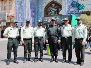 برقراری امنیت توسط نیروی انتظامی رفسنجان در تاسوعا و عاشورا قابل تقدیر است