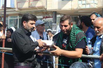 خدمت رسانی موکب خاتم الانبیاء رفسنجان در نجف اشرف/تصاویر