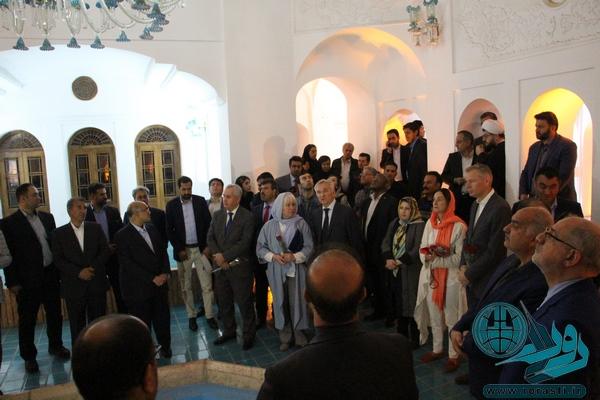 گزارش تصویری از حضور میهمانان داخلی و خارجی در رفسنجان
