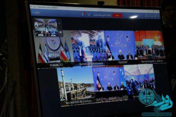 افتتاح طرح های مس سرچشمه از طریق ارتباط تصویری با رئیس جمهور+تصاویر
