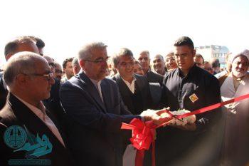گزارش تصویری افتتاح نیروگاه ۵۸ مگاواتی رفسنجان