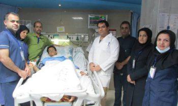 مجروح۱۷ ساله رفسنجانیبا حال وخیم از مرگ نجات یافت