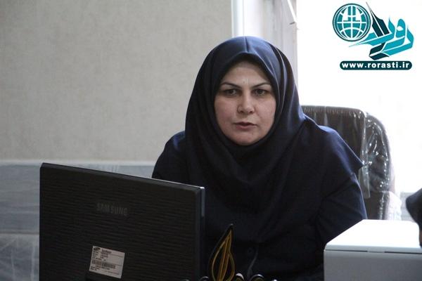 دریافت عنوان «زن نمونه ملی» توسط مژده سرچشمه پور