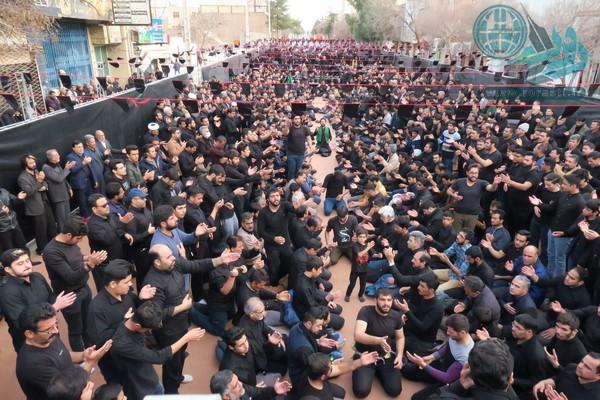 اجتماع بزرگ مردم رفسنجان در سالروز شهادت ام ابیها