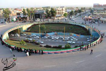میدان شهدا رفسنجان به نام سپهبد شهید حاج قاسم سلیمانی تغییرنام یافت
