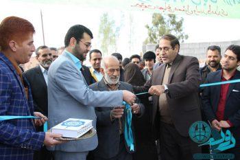 افتتاح پروژههای بخش فردوس رفسنجان به مناسبت دهه فجر+تصاویر