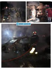برخورد سمند با کامیون واژگون شده در محور رفسنجان-انار با ۲ کشته
