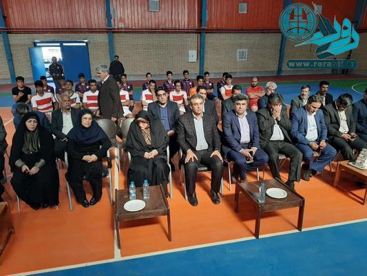 افتتاح سالن ورزشی سردار سپهبد شهید سلیمانی در لاهیجان رفسنجان