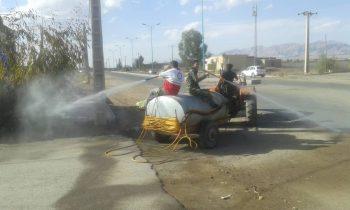 استمرار تلاش جهادگران سلامت در زادگاه اولین شهید انقلاب در رفسنجان