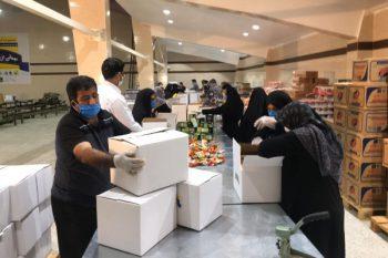 توزیع ۱۰ هزار بسته مواد غذایی بین نیازمندان در «مهمانی بزرگ رفسنجانی ها»