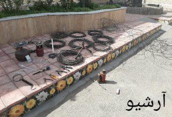 دستگیری سارق سیم و کابل برق با ۱۷ فقره سرقت در رفسنجان