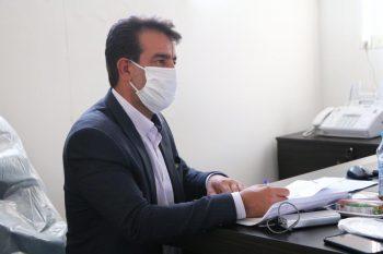 صرف هزینه ۱۵۰ میلیون تومانی برای تولید ماسک توسط موکب خاتمالانبیاء رفسنجان
