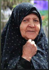 مادر شهیدان محمدیپور در رفسنجان به فرزندان شهیدش پیوست