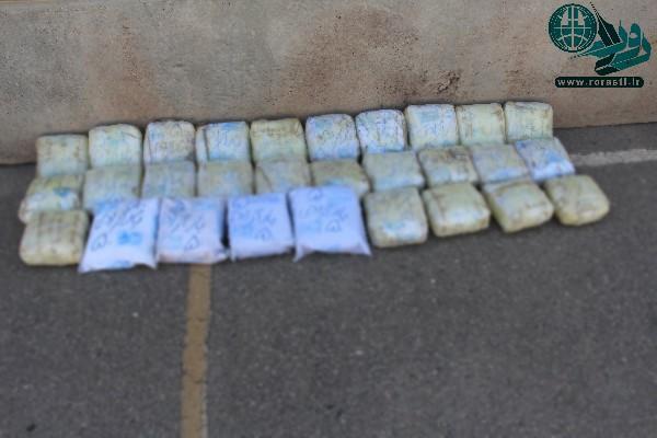 انهدام باند کلان قاچاق و کشف ۲۹ کیلوگرم هروئین در رفسنجان