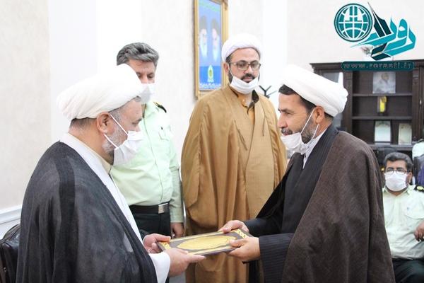 مسئول عقیدتی سیاسی نیروی انتظامی رفسنجان معرفی شد+تصاویر