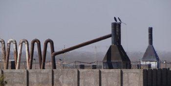 نوار مرگ در ورودی رفسنجان/کورههایی که اکسیژن مردم را به یغما میبرند+تصاویر