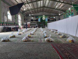 مهمان نوازی مومنانه مسجد ۱۴ معصوم جنت آباد از عزاداران حسینی