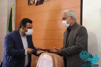 آیین تکریم و معارفه رئیس اداره زندان رفسنجان+تصایر