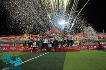 جشن قهرمانی مس رفسنجان در لیگ دسته اول فوتبال برگزار شد + تصاویر