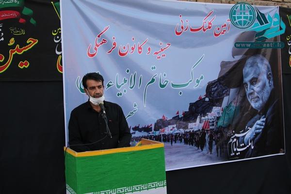 نذر آزادی زندانیان به نام امام حسین توسط موکب خاتم الانبیاء رفسنجان