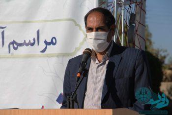 در ارتباط ویدئوکنفرانس با وزرای کشور و بهداشت: تشریح وضعیت کرونا استان کرمان توسط فرماندار رفسنجان