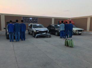 دستگری ۶ نفر سارق احشام در رفسنجان+تصاویر