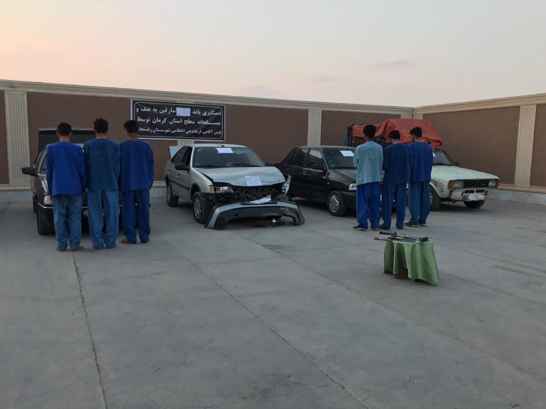 دستگیری ۶ نفر سارق احشام در رفسنجان+تصاویر