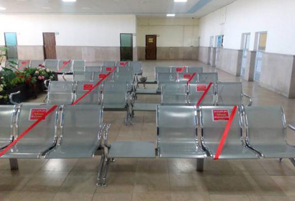 از ضدعفونی روزانه محیطهای عمومی و انبار پایانه مسافربری رفسنجان تا فاصلهگذاری در سالن انتظار