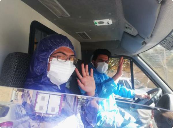 روزهای سخت سنگربانان خط مقدم درمان در اورژانس رفسنجان/۱۳ تکنسین به کرونا مبتلا شدند