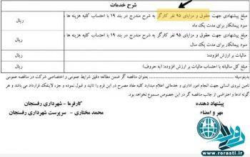 حذف آگهی جذب نیرو در سایت شهرداری رفسنجان!