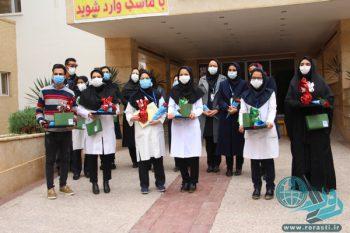 پرستاران رفسنجان تجلیل شدند+تصاویر