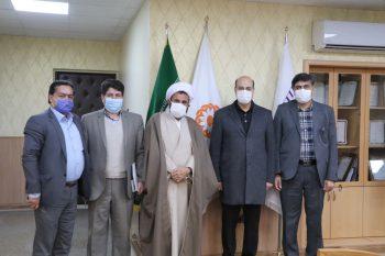 گزارش دومین سفر یکروزه حجت الاسلام جلالی به مرکز استان
