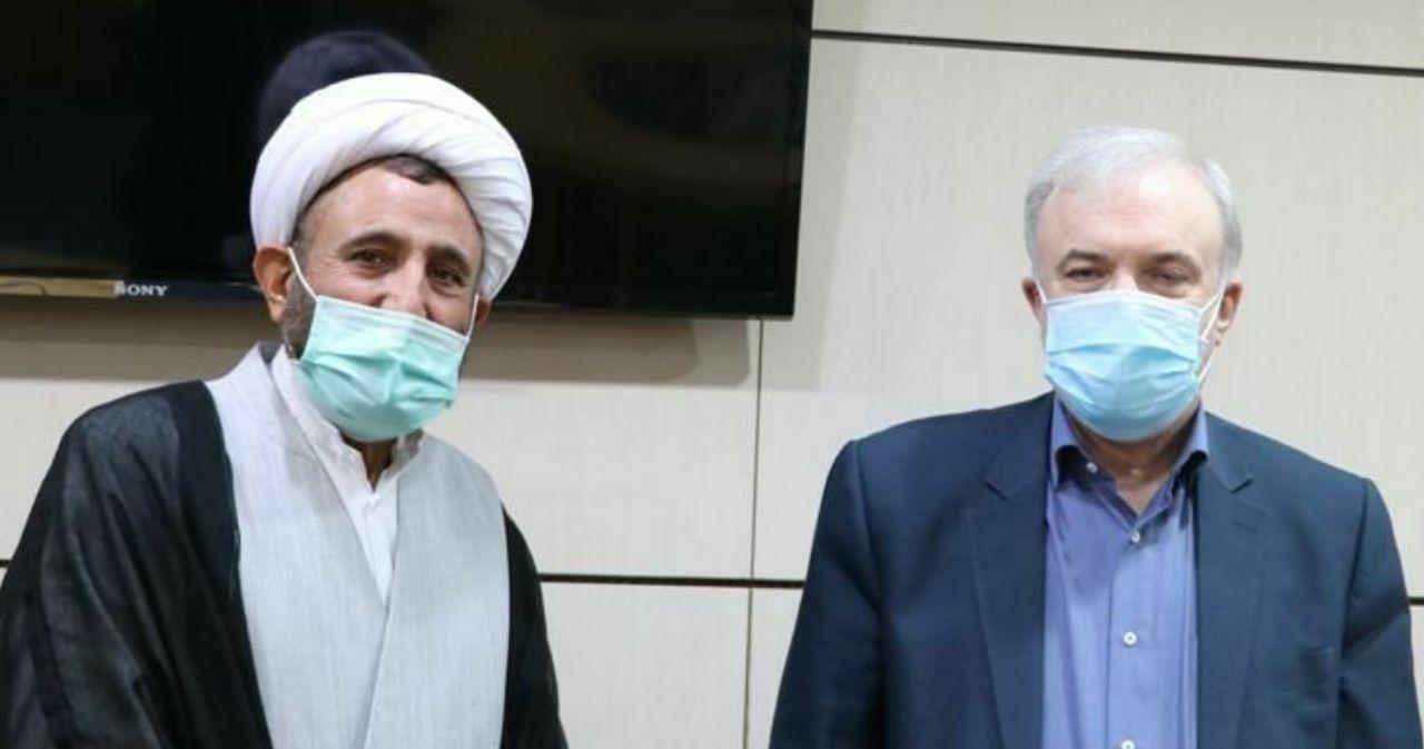 دیدار حجت الاسلام جلالی با وزیر بهداشت/قول نمکی برای اصلاح امور بهداشت و درمان رفسنجان