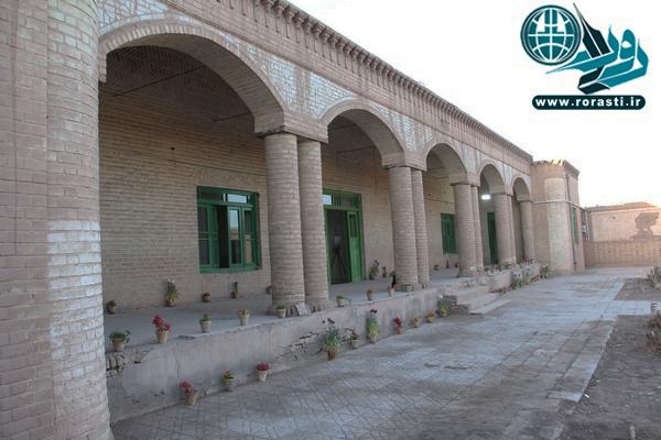 آغاز احیاء مدرسه اوحدی فتح آباد رفسنجان