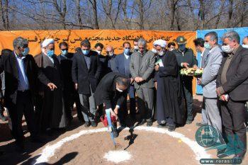 کلنگ زنی پروژه های مس سرچشمه رفسنجان با حضور وزیر صمت+تصاویر