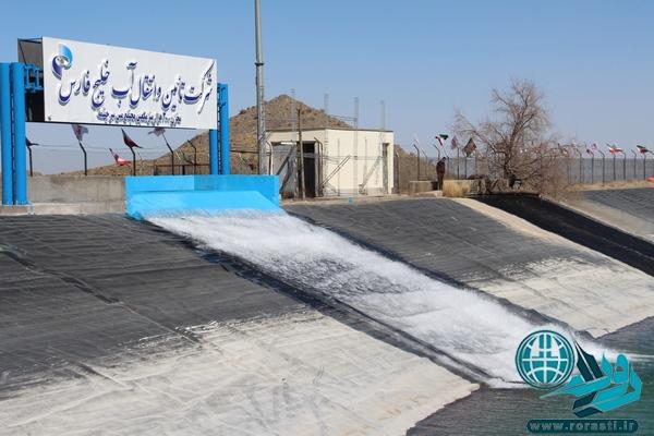 افتتاح پروژه انتقال آب خلیج فارس به سرچشمه رفسنجان+تصاویر
