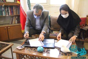 امضای تفاهم نامه بین مس و ۷ موسسه فرهنگی در رفسنجان+تصاویر