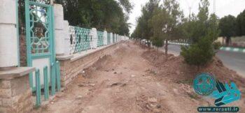 پروژه های نیمه تمام شهرداری رفسنجان و مزاحمت برای شهروندان