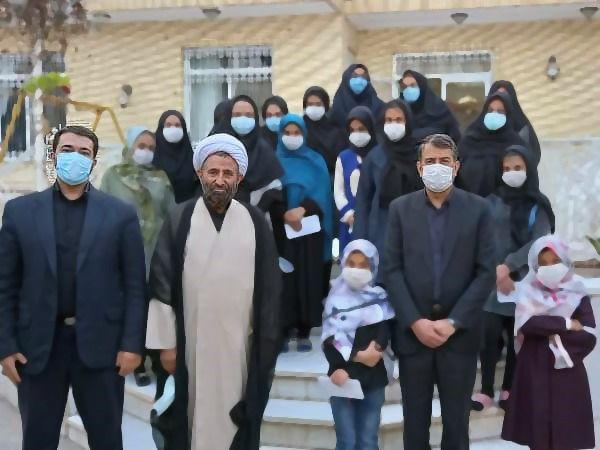 بازدید حجت الاسلام جلالی از خانه کودکان فاطمه الزهرا (س) مشیز رفسنجان