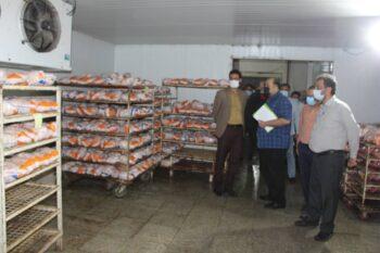 بازدید دادستان رفسنجان از کشتارگاههای مرغ شهرستان