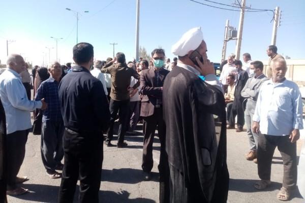 مطالبه مردم بیآب نوق رفسنجان از امام جمعه جدید/امام جمعه حاضر به معارفه نشد