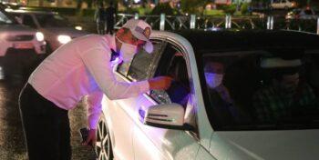 جریمه ۴۰۰ خودرو در طرح ممنوعیت تردد شبانه در رفسنجان