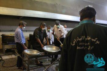 «اطعام غدیر» به همت موکب خاتم الانبیاء (ص) رفسنجان+تصاویر