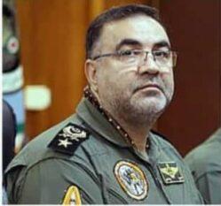 یک رفسنجانی فرمانده نیروی هوایی ارتش شد