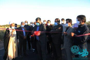 افتتاح و کلنگ زنی ۵ طرح بخش مرکزی رفسنجان به مناسبت هفته دولت/تصاویر