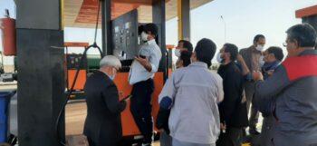 گزارش میدانی روراستی از مشکل توزیع بنزین در رفسنجان+تصاویر